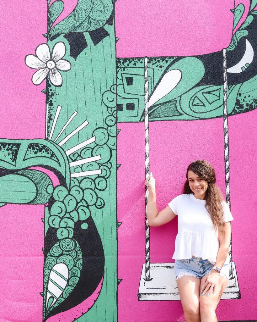 Biltmore Fashion Park Cactus Mural