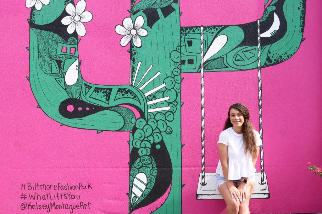 Biltmore Fashion Park Instagrammable walls